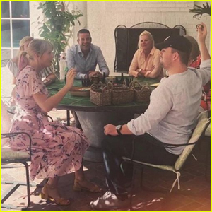Taylor Swift Plays Intense Game of Easter Egg Tapping with Brother Austin! (VIDEO)