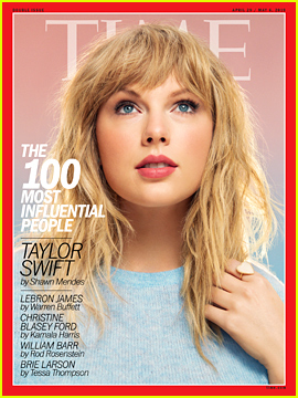Taylor Swift Named to Time's 100 Influential People List!