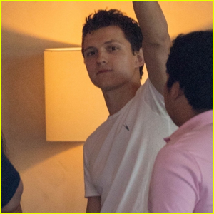 Tom Holland Films New Movie 'Chaos Walking' in Atlanta