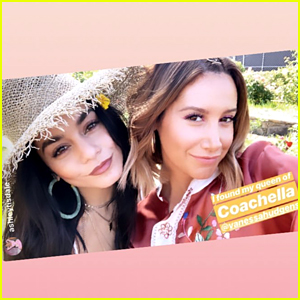 Vanessa Hudgens & Ashley Tisdale Found Each Other at Coachella 2019!
