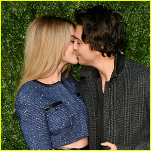 Nat Wolff & Grace Van Patten Share a Kiss at Chanel's Tribeca Film Festival Dinner