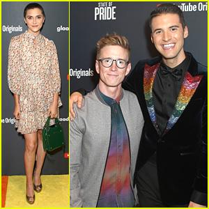 Alyson Stoner Steps Out For 'State of Pride' Premiere in LA