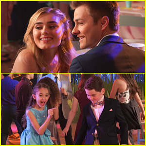 Meg Donnelly & Peyton Meyer Play Matchmaker For Julia Butters on 'American Housewife' Tonight