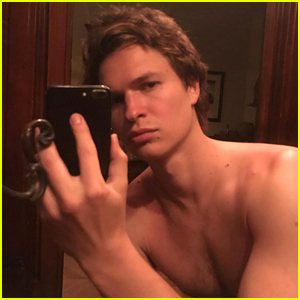 Ansel Elgort Goes Shirtless in 17 New Selfies on Instagram!