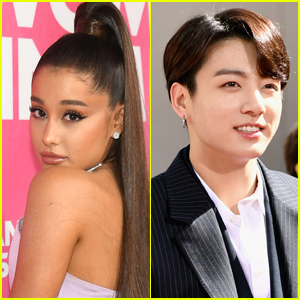 Ariana Grande is Visited by BTS' Jungkook at Her Concert!