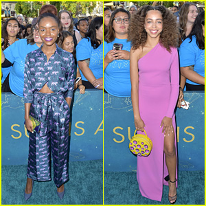 Ashleigh Murray & Hayley Law Support Charles Melton at 'Sun is Also A Star' Premiere