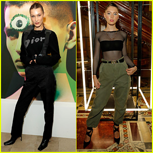Bella Hadid & Iris Law Hit Up Dior's Launch Party for 'A Magazine Curated By' in London