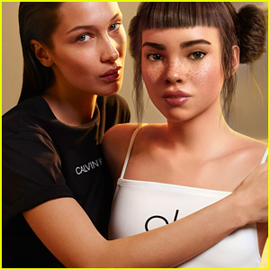 Calvin Klein Issues Apology For Bella Hadid & Lil Miquela Kiss in 'I Speak My Truth' Campaign Video