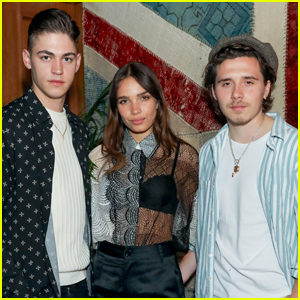 Hero Fiennes-Tiffin Joins Brooklyn Beckham & Girlfriend Hana Cross at Party in London!