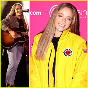 Brynn Cartelli Performs For City Year's Spring Break Event in LA