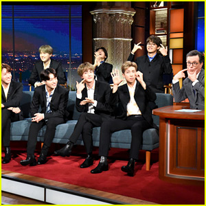 Watch BTS' Fun New Interview with Stephen Colbert!