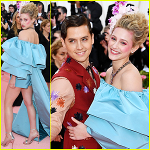 Lili Reinhart & Cole Sprouse Are Picture Perfect at Met Gala 2019