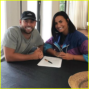 Demi Lovato Teams Up with Manager Scooter Braun for 'Next Chapter'!