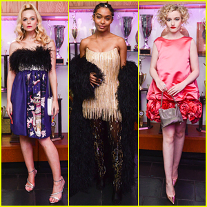 Elle Fanning, Yara Shahidi & Julia Garner Switch It Up at Gucci's Met Gala After Party!