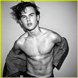 Garrett Wareing Goes Shirtless In Hot, New Photo Shoot