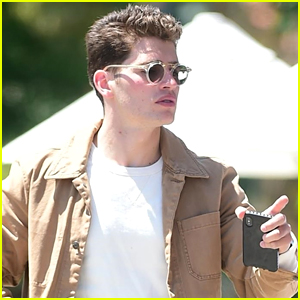Gregg Sulkin Celebrates His 27th Birthday at a Low-Key Lunch with Friends!