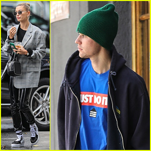 Justin Bieber Joins Wife Hailey For Spa Appointment in LA