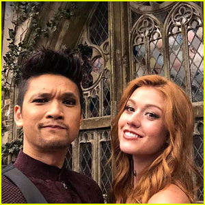Harry Shum Jr Shares Photos & Videos From Last Day of 'Shadowhunters'