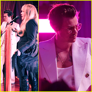 Harry Styles Performs at Gucci's Cruise 2020 After Party with Stevie Nicks