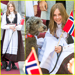Princess Ingrid Alexandra of Norway Celebrates The Country's National Day