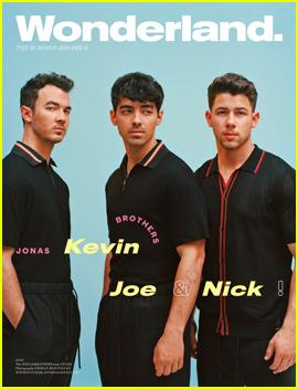 Jonas Brothers Are 'Wonderland' Magazine Summer Cover Stars!