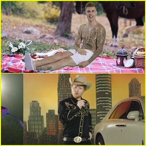 Justin Bieber Is Shirtless In Ed Sheeran 'I Don't Care' Music Video!