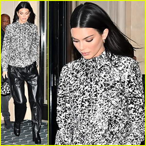 Kendall Jenner Flies Out To Paris For Fashion Event After NBC Upfronts