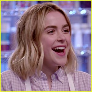 Kiernan Shipka & 'Sabrina' Co-Stars Compete in 'Nailed It!' Baking Challenge (Video)