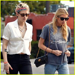 Kristen Stewart Reunites With Ex Stella Maxwell in LA
