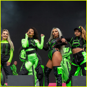 Little Mix Gives Epic 'Woman Like Me' Performance at BBC Radio 1's Big Weekend