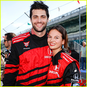 Matthew Daddario & Esther Kim Have the IndyCar Experience Ahead of Indy 500