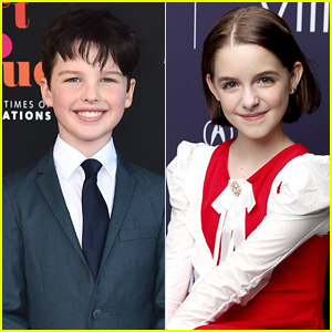'Young Sheldon' Co-stars Iain Armitage & McKenna Grace Join 'Scooby Doo' Movie