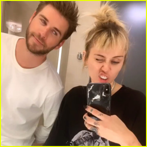 Miley Cyrus & Liam Hemsworth Kick Off Met Gala Prep!