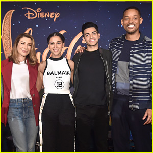 Naomi Scott & Mena Massoud Reveal How They Made Jasmine & Aladdin Their Own for 'Aladdin' Live Action Movie