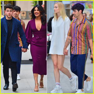 Nick & Joe Jonas Double Date With Wives Priyanka Chopra & Sophie Turner