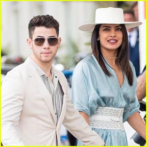 Nick Jonas & Priyanka Chopra Arrive in Style at the Cannes Film Festival!