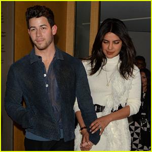 Nick Jonas & Priyanka Chopra Couple Up for Dinner with Joe & Kevin