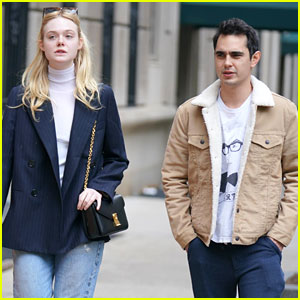 Elle Fanning Steps Out With Rumored Beau Max Minghella Ahead of Met Gala 2019
