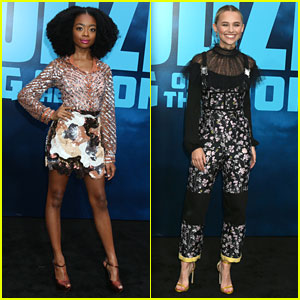 Skai Jackson & Madison Iseman Bring The Fashion To 'Godzilla: King of the Monsters' Premiere