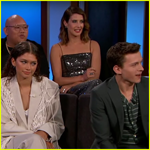 Zendaya Had to Help Tom Holland Post 'Spider-Man: Far From Home' Trailer