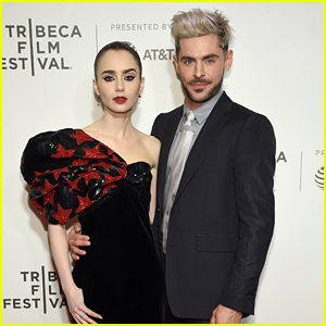 Zac Efron Premieres New Movie at Tribeca Film Fest with Lily Collins!