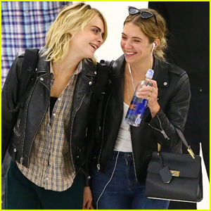 Cara Delevingne Only Has Eyes for Girlfriend Ashley Benson!