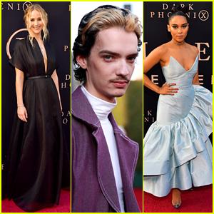Jennifer Lawrence Joins X-Men Co-Stars at 'Dark Phoenix' L.A. Premiere!