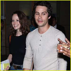 Dylan O'Brien Skips The Red Carpet at 'Child's Play' Premiere with Sarah Ramos