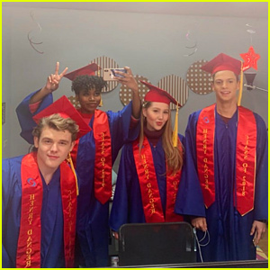 'Henry Danger' Cast Graduate Home School Together On Set - See The Pics!