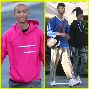 Jaden & Willow Smith Run Separate Errands in Los Angeles