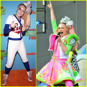 JoJo Siwa Owns the Stage at Nickelodeon Slimefest!