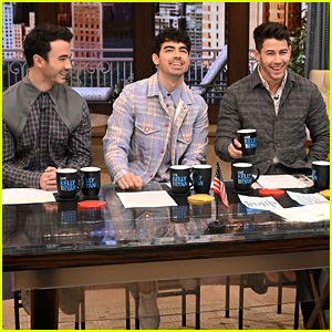 Jonas Brothers Dish On Their Upcoming Tour on 'Live!' in NYC