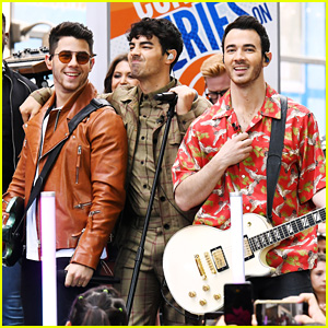 Nick, Kevin & Joe Jonas Bring Lots of 'Happiness' To 'Today' With Concert Performance