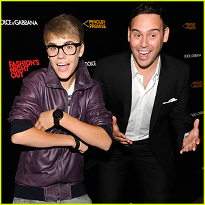 Justin Bieber Gifts Manager Scooter Braun With Funny Present For Birthday